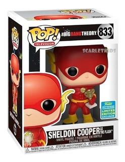 Funko Pop The Big Bang Theory 833 Sheldon Flash Exclusivo