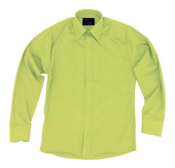 Camisa Infantil Juvenil Salida Escolar Verde Manzana 2 A 16