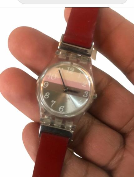 Reloj Dama Swatch Original Correa Larga Doble Vuelta
