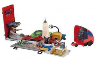Trilha Imc Toys Homem-aranha Spider Truck Playset 2 Em 1