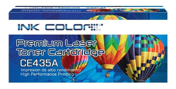 Toner Generico Ink Color Cb435a 435a 35a / P1005 P1006