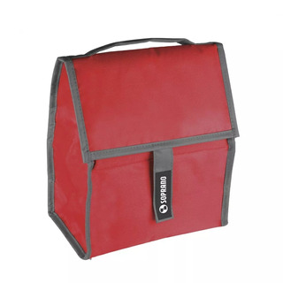 Bolsa Térmica Com Gel 5 Litros Vermelho Fitness Soprano Gelo