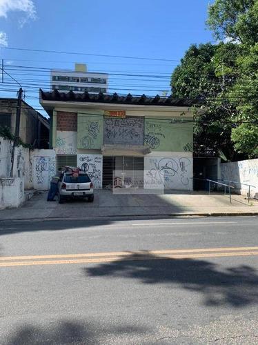 Casa Comercial Em Campo Grande - Ca0076