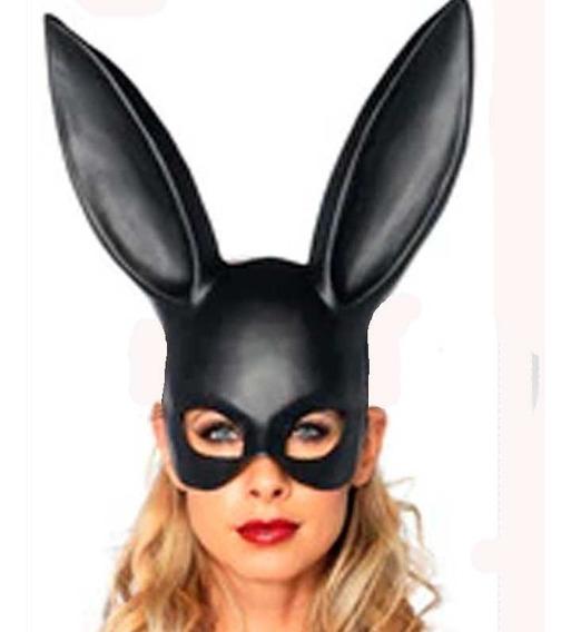 Mascara De Latex Sexy Bunny Disfraz Halloween Upd Egresados