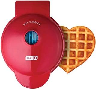 Mini Máquina Para Waffles Dash Antiaderente Importada
