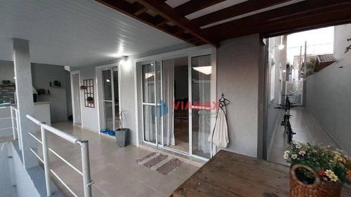 Imagem 1 de 30 de Sobrado Urbanova - Cond. Floradas Da Serra, 230m² 4 Dormitórios 2 Suítes  Estuda Troca - Ca0577