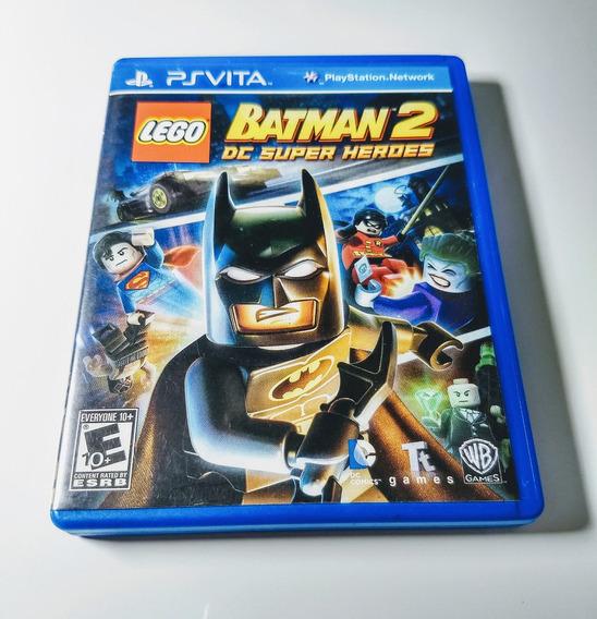 Lego Batman 2 Dc Heroes - Psvita - Completo / Impecável !!!