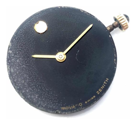 Máquina Suíça Relógio Pulso Movado/zenith A Corda Cal 30.5