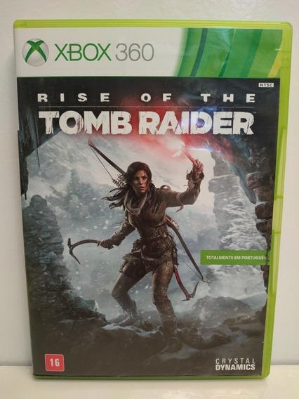 Rise Of Tomb Raider Xbox 360 Midia Física Original P/entrega