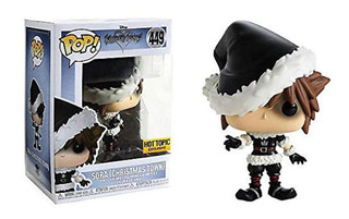 Funko Pop! Kingdom Hearts Sora #449 Hot Topic Exclusive