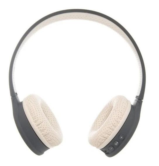 Headphone Bluetooth Gt H1 Goldentec Branco