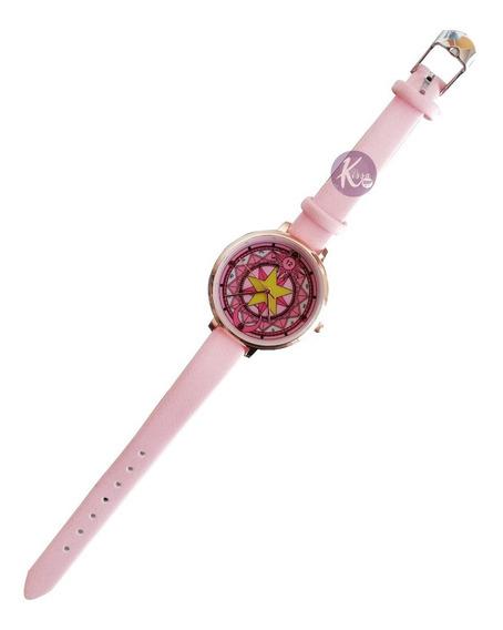 Sailor Moon - Card Captor Sakura Reloj De Pulsera
