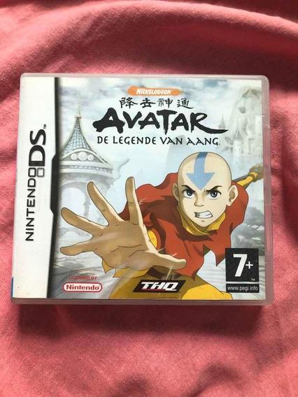 Jogo: Avatar De Legend Van Aang Nintendo Ds