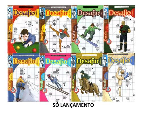 Kit 3 Livro Palavra Cruzada Coquetel Desafio Difícil 43 Pag