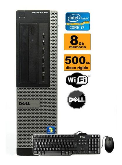 Desktop Dell Optiplex 990 I7-2600 8gb 500gb Seminovo!!