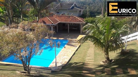 Linda Casa A Venda No Condomínio Chácaras Do Lago Na Cidade De Vinhedo. - Ca01609 - 34099346