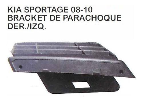 Guia Bracket Parachoque Delantero Kia Sportage 2008 - 2010