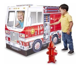 Camión De Bomberos Para Interior Melissa And Doug