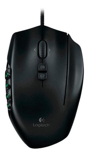Mouse De Juego Logitech G600 G Series Negro Gaming