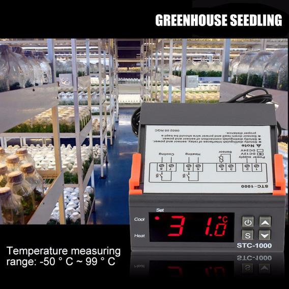 Controlador De Temperatura Stc-1000 Dc12 / 24v 2 Saídas