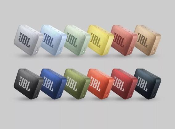 Caixa De Som Bluetooth Jbl Go 2 Portátil Original