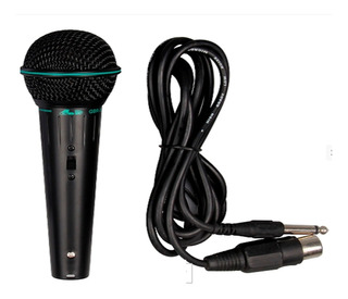 Gbr 39 Microfóno De Mano Profesional Con Cable 3 Mts Mijalshop