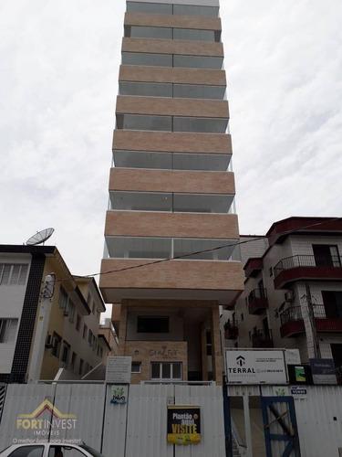 Imagem 1 de 27 de Apartamento Com 1 Dormitório À Venda, 44 M² Por R$ 208.060,00 - Vila Guilhermina - Praia Grande/sp - Ap2178