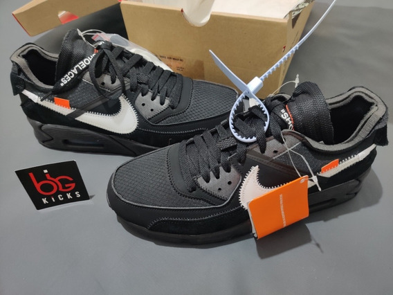 Air Max 90 Off White Black Size 40