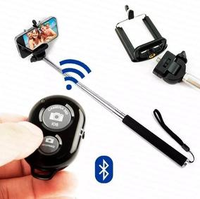 Pau De Selfie Com Controle Bluetooth Para Celular