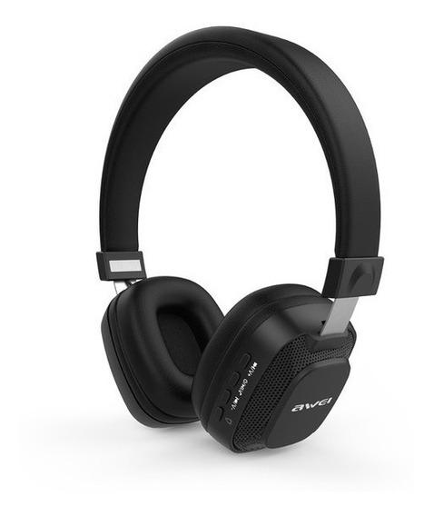 Fone Headphone Bluetooth Com Led Awei A760 Bl
