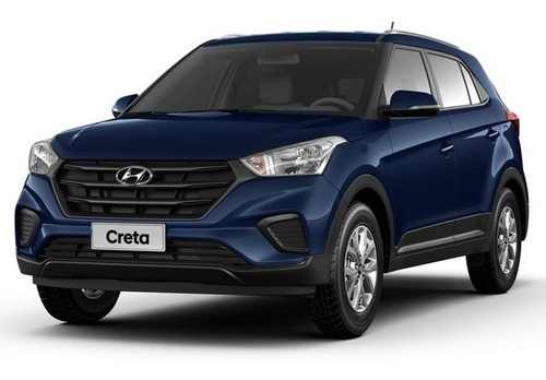 Imagem 1 de 8 de Hyundai- Creta Prestige 2.0 Automático- 21/21- Azul