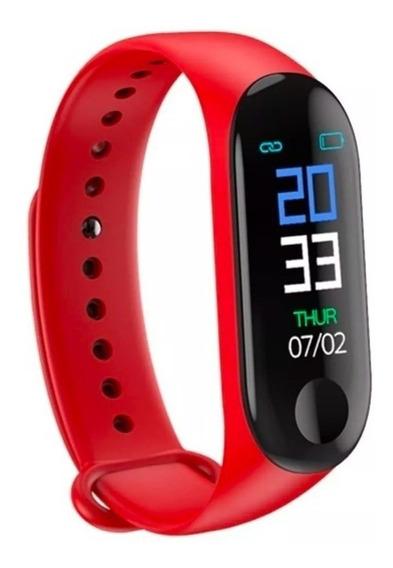 Reloj Smart Band M3 Ritmo Cardiaco Podometro Presion Sport.