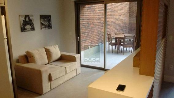 Apartamento Com 1 Dormitório Para Alugar, 72 M² Por R$ 6.100,00/mês - Jardim Paulista - São Paulo/sp - Ap4807