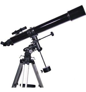 Black Twinstar 90mm High-power Refractor Telescopio