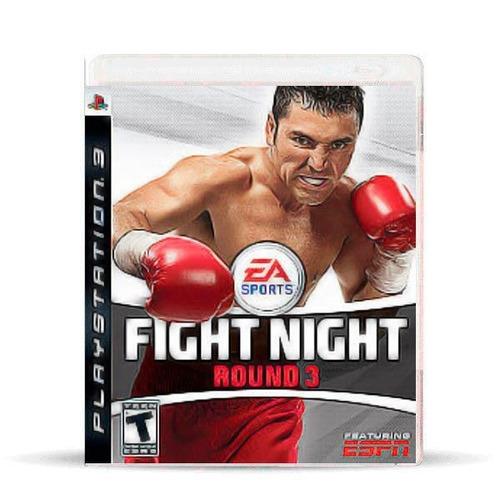 Fight Night Round 3 (nuevo) Ps3 Físico, Macrotec