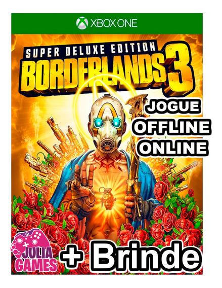 Borderlands 3 Super Deluxe Xbox One Digital + Brinde