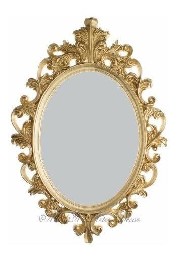 Moldura Provençal De Resina Com Espelho