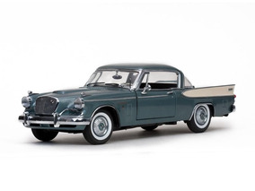 Studebaker Golden Hawk 1957 Sunstar 1:18 Cinza Sun-6151