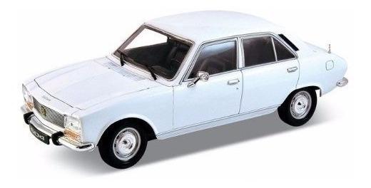 Auto De Coleccion Metal Peugeot 504 1975 Escala 1:24 Welly