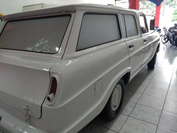 Chevrolet Veraneio 6 Cc Alcool Estado De Nova