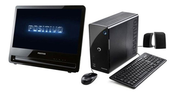 Cpu + Monitor Positivo Intel Dual Core 4gb Hd 500gb - Novo