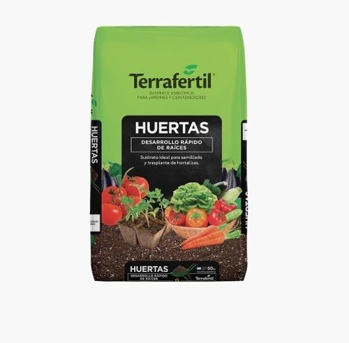 Sustrato Huerta Terrafertil 50lts