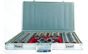 Caja De Prueba Aluminio/metalica Oftalmica/optometria 270pz