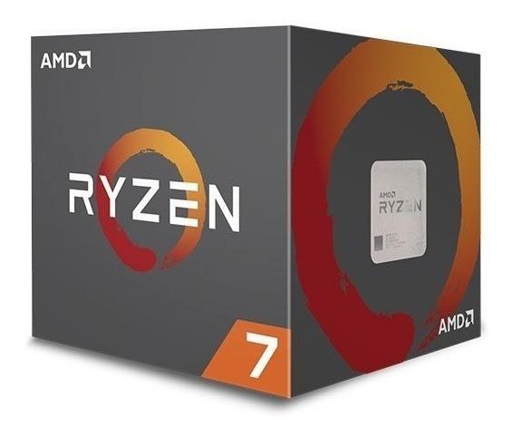 Processador Amd Ryzen 7 2700 Octa-core 3.2ghz (4.1ghz Turbo)