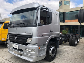 Mb 1725 Atego Leito Ano 2008 Chassis 8,50 Mts /financia 100%