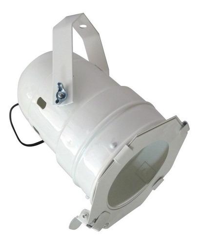Canhão Refletor Par 38 Branco C/ Porta-gelatina Iluminação