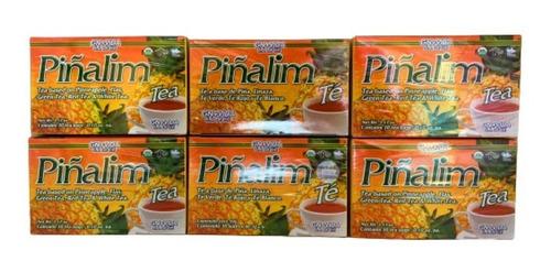 Piñalim Te Original Gn + Vida 180 Sobres (6 Cajas) Env Full