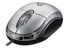 Mouse Optico Usb Classic Box Preto Mo180 - Multilaser