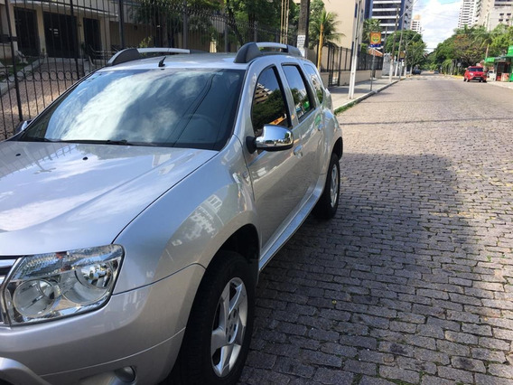 Renault Duster Dynamique 1.6 12/13 Prata Único Dono