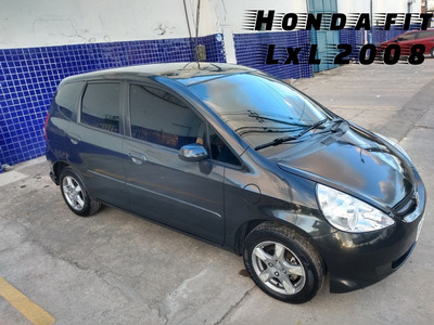 Honda Fit 2008 1.4 Lxl Flex 5p
